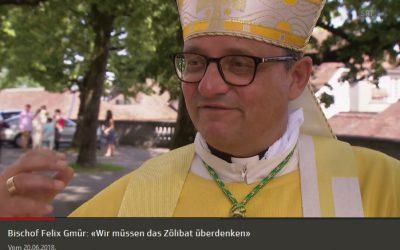 SRF: Bischof Gmür wünscht Diskussion über Zölibat