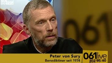 TeleBasel – 061live: Abt Peter von Sury, Kloster Mariastein