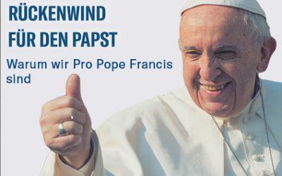"""Aktion """"Pro Pope Francis"""" mündet in theologische Unterstützung für Franziskus"""